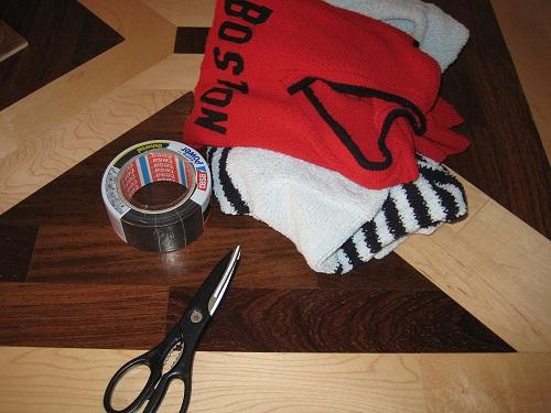 Material: Maßbüste/Maßpuppe selbst machen