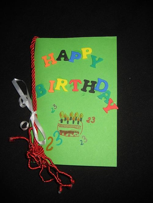 DIY: Geburtstagskarte