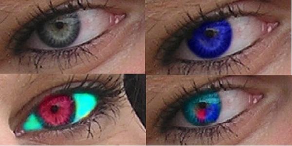Augenfärben mit Gimp