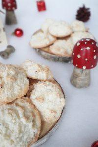 Weihnachtsplätzchen Makronen