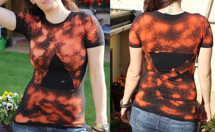 Acid Washed Shirt / Dreieck