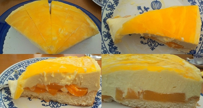 Pfirsich - Maracuja - Torte