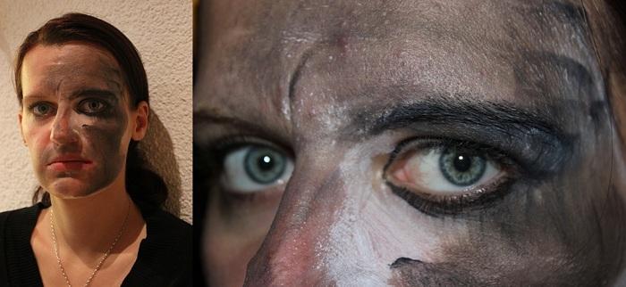Gesichtsbemalung Schornsteinfeger