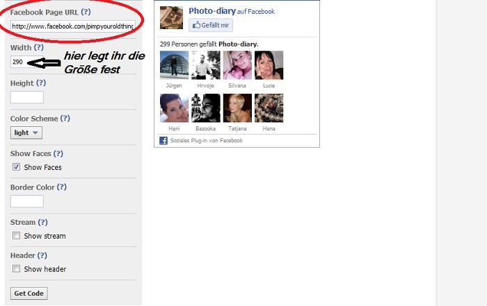 Facebook Likebox auf dem Blog einbinden