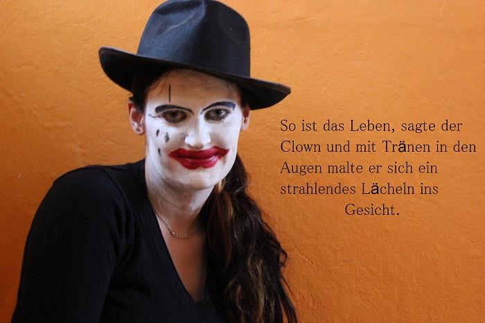 Gesichtsbemalung Clown