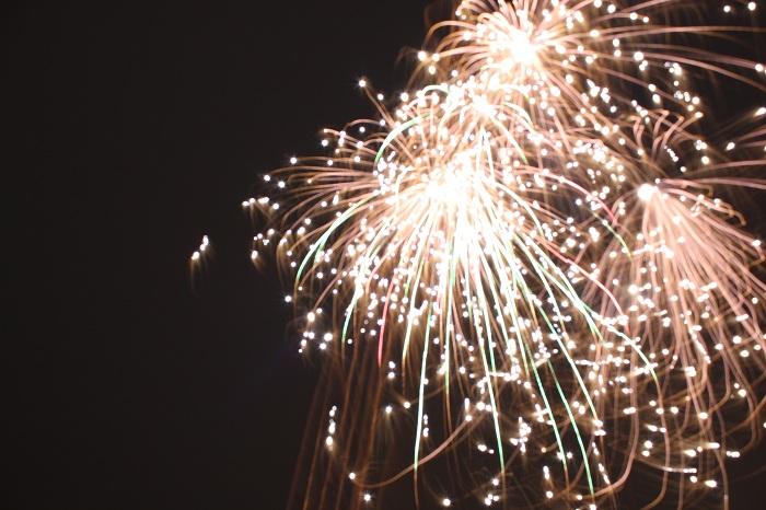 Feuerwerk mit Spiegelreflex fotografieren
