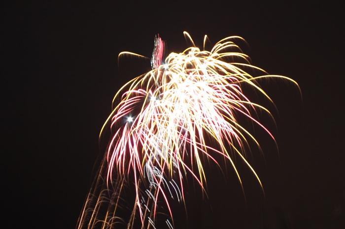 Spiegelreflexkamera: Kameraeinstellung Feuerwerk