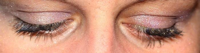 Dezentes Augenmakeup