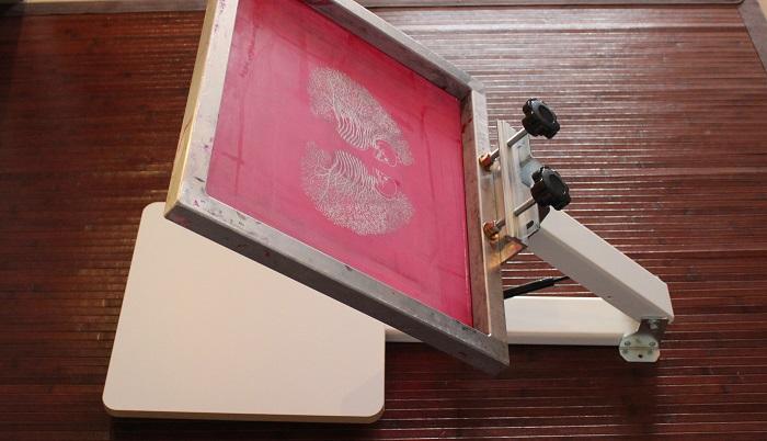 Siebdruckverfahren