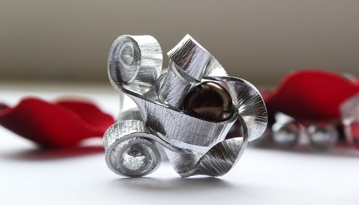 DIY: Silberner Ring