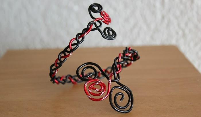 DIY Armband aus Draht
