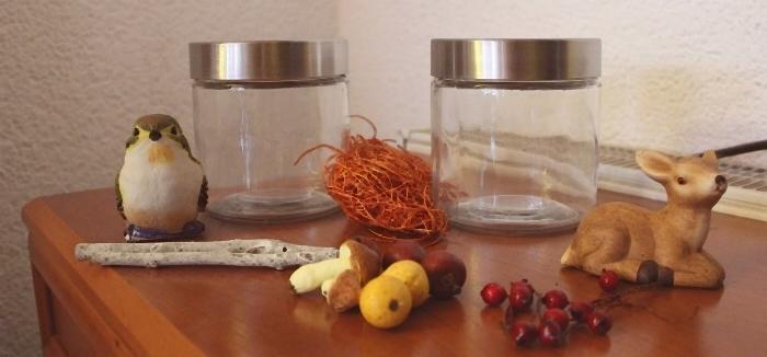 Herbstzauber im Glas