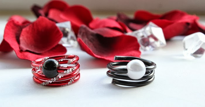 selbstgemachte Ringe