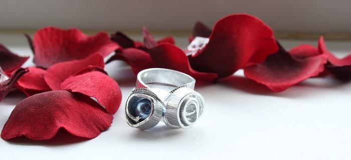 DIY: Silberne Ringe aus Draht - The inspiring life