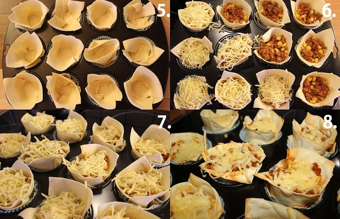 Lasagne-Muffins