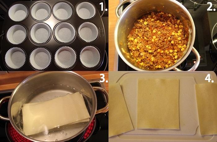 Rezept: Lasagne-Muffins