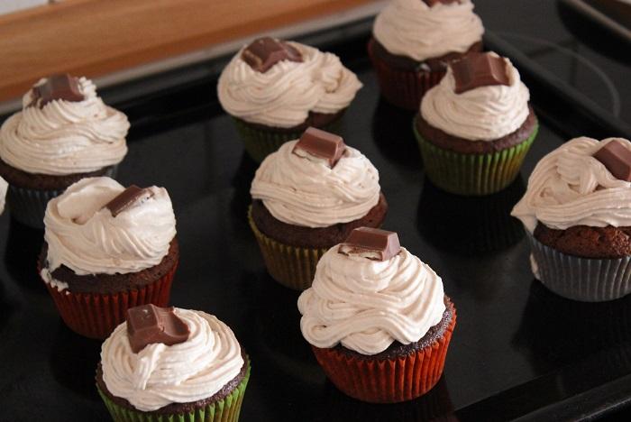 Rezept: Kinderriegel Cupcakes
