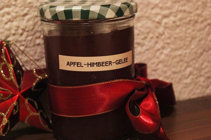 Rezept: Apfel-Himbeer Gelee