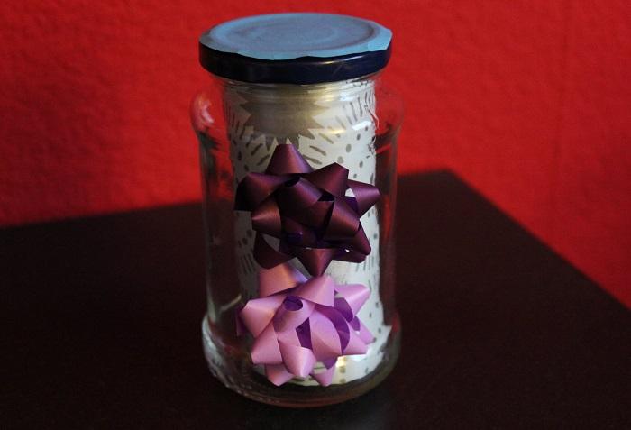 Geschenke im Glas