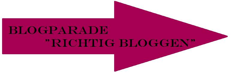 Blogparade Richtig Bloggen