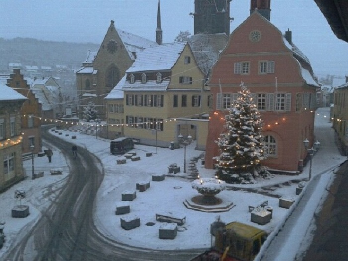 Der Marktplatz von Gau-Algesheim