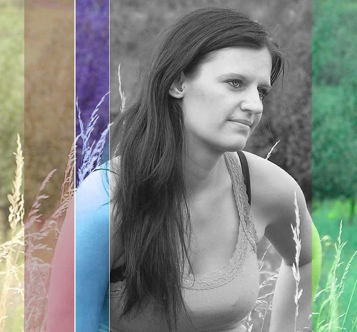 Farbverlauf im Bild