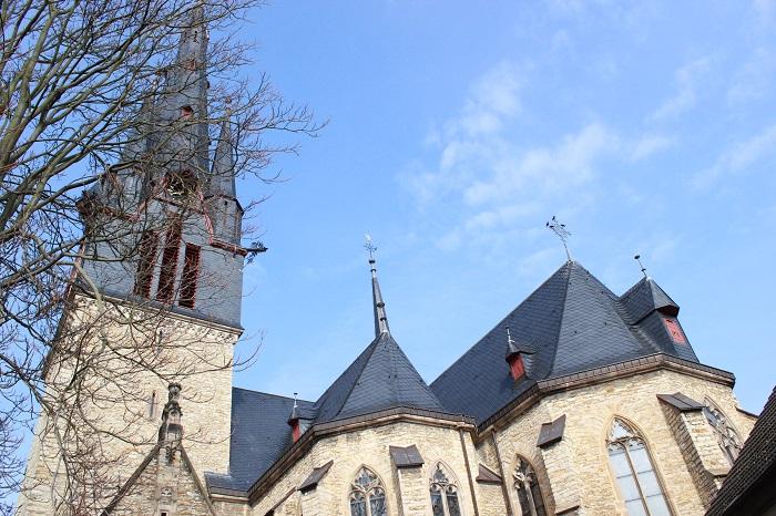 Kirchturm von Gau-Algesheim