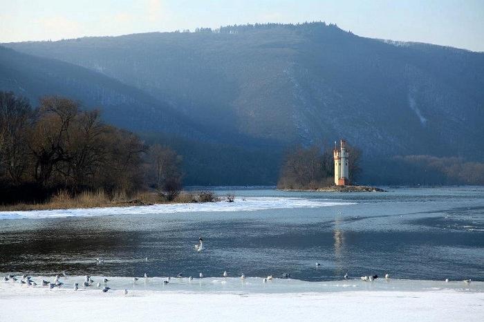 Der Mäuseturm in Bingen am Rhein