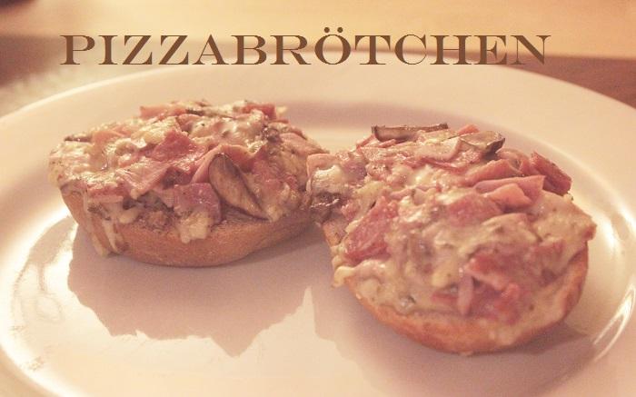 Rezept: Pizzabrötchen