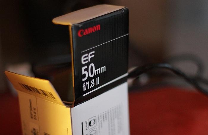 Festbrennweite: Canon 50mm 1.8