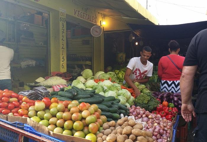 Markt in der dominikanischen Republik