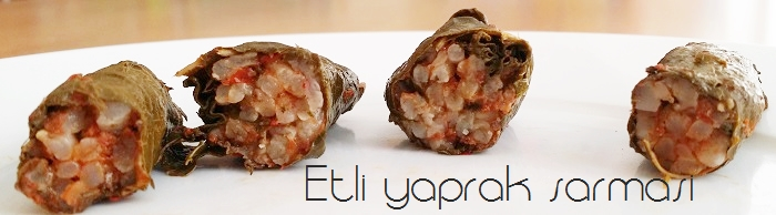 Türkische Küche: Etli yaprak sarmasi