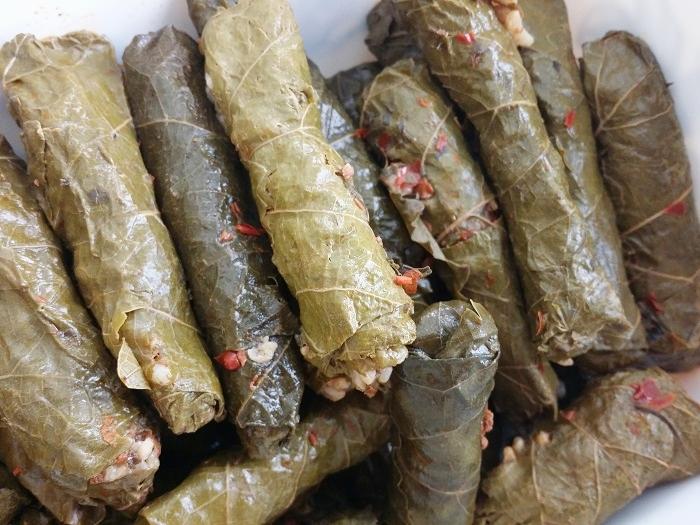 gefüllte Weinblätter - türkisches Rezept