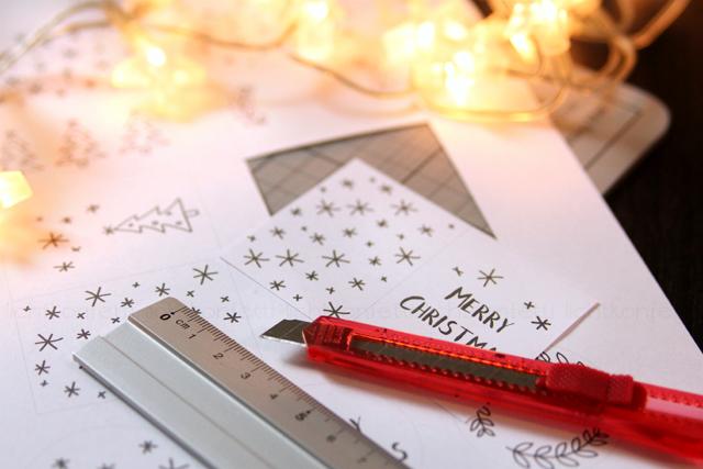 DIY: Geschenkanhänger für Weihnachten