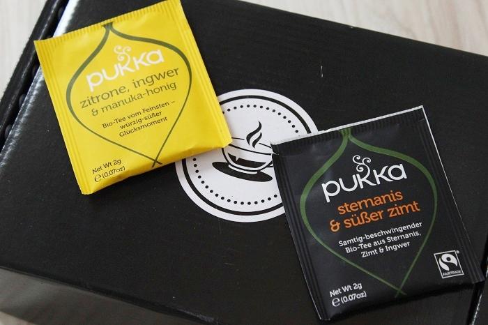 Pukka Tee: Sternanis und Zimt / Zitrone Ingwer