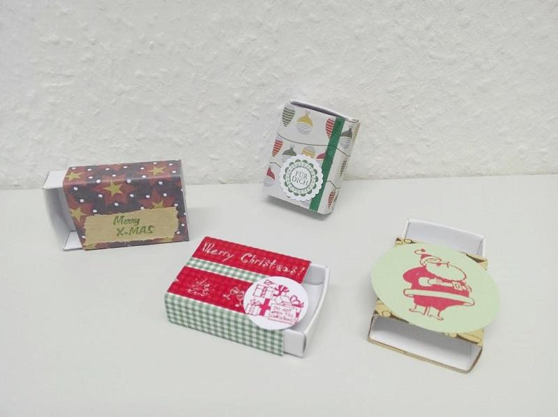 Geschenkschachtel Weihnachten