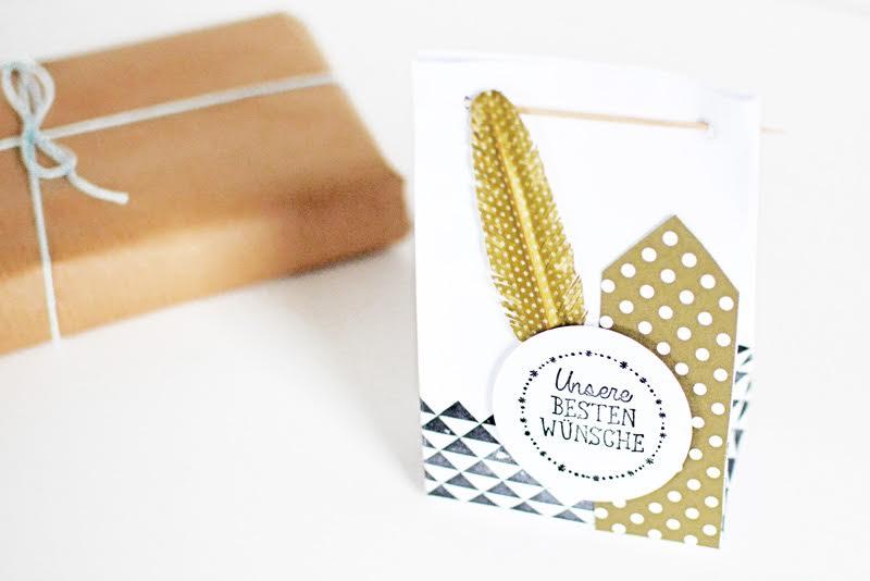 Washi Tape Geschenke verpacken