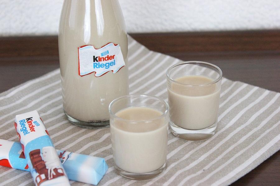 Rezept: Kinderriegel-Likör