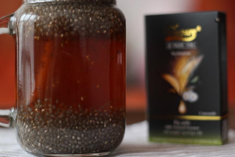 Rezept: Tee mit Chiasamen