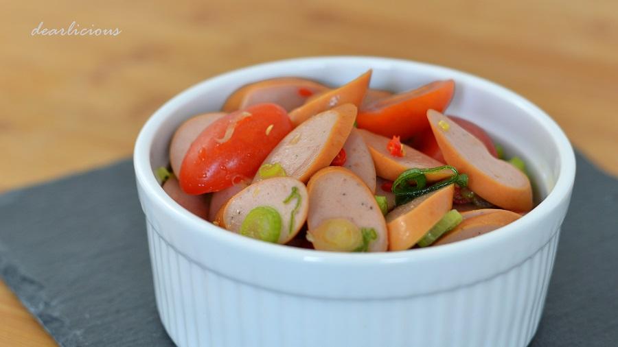 Asiatischer Wurstsalat