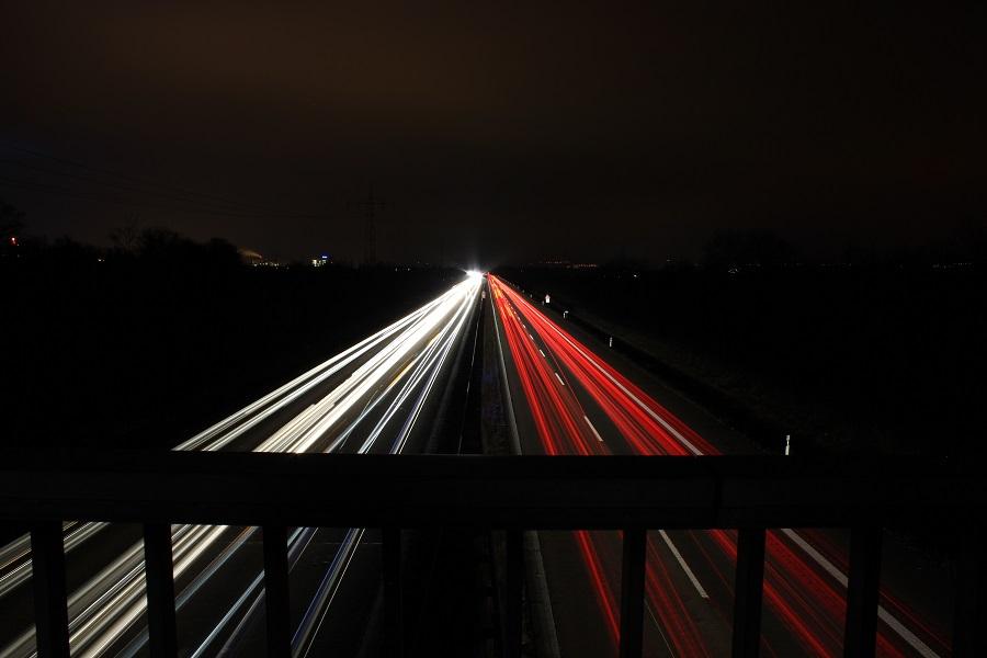Langzeitbelichtung-Autobahn-BULB-Modus