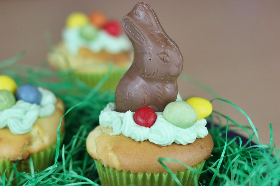 Rezept: Cupcakes für Ostern