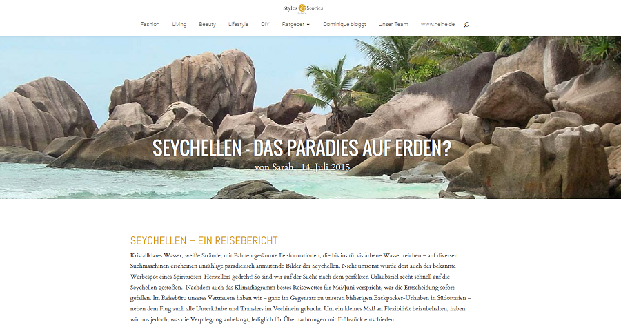 Seychellen Urlaubsbericht - Mahé, Praslin, La Digue