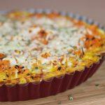 Rezept: Karotten-Quiche  vegetarisch