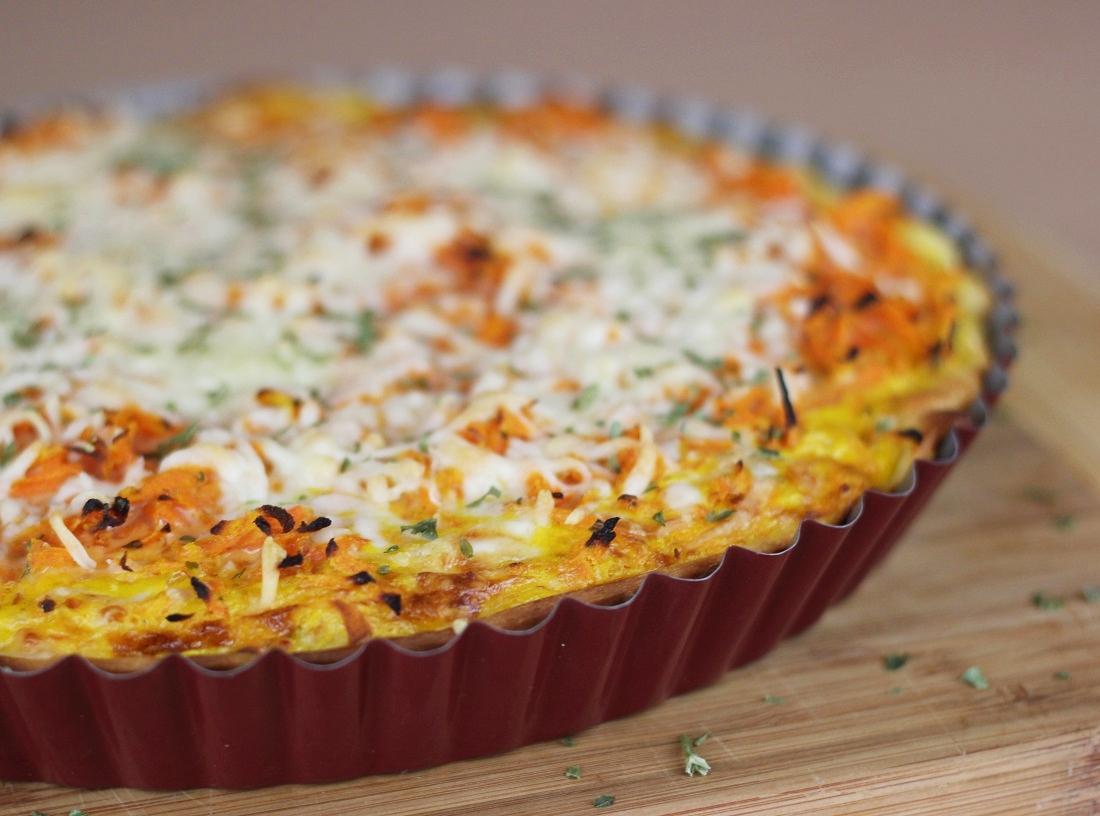 Rezept: Karotten-Quiche |vegetarisch