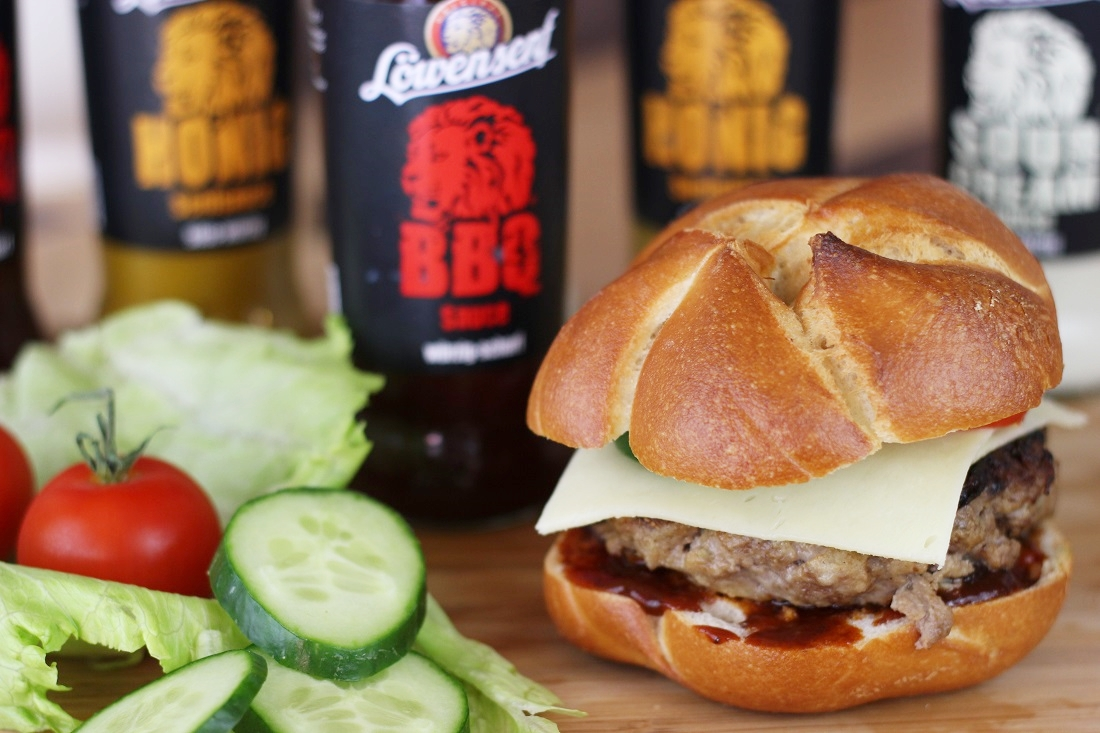 Rezept: gesunde Hamburger