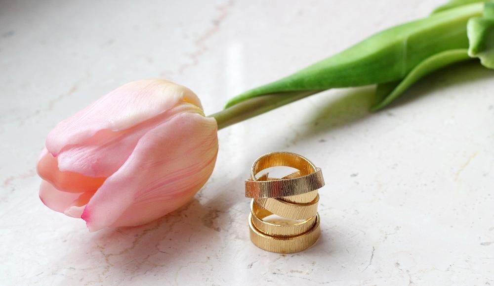 selbstgemachte Ringe aus Draht - nickelfrei |