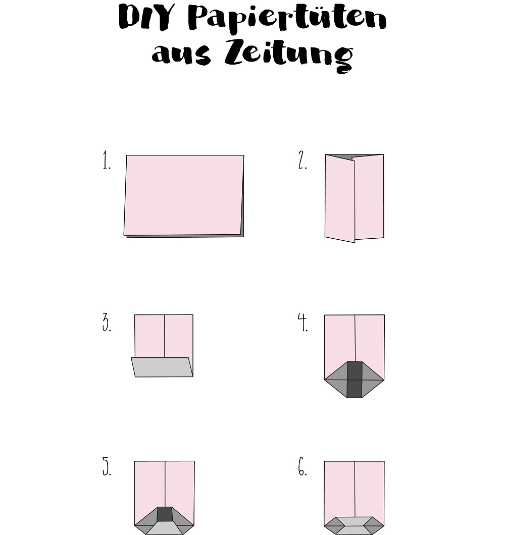 diy papiert ten aus zeitungspapier the inspiring life. Black Bedroom Furniture Sets. Home Design Ideas
