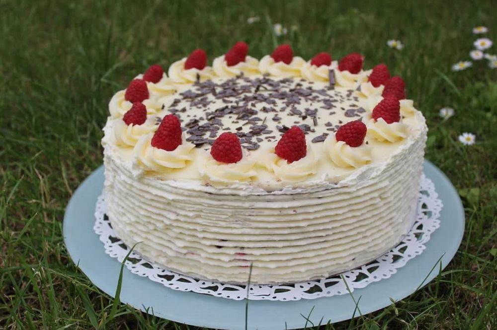 Himbeer Sahne Torte | Buttercreme