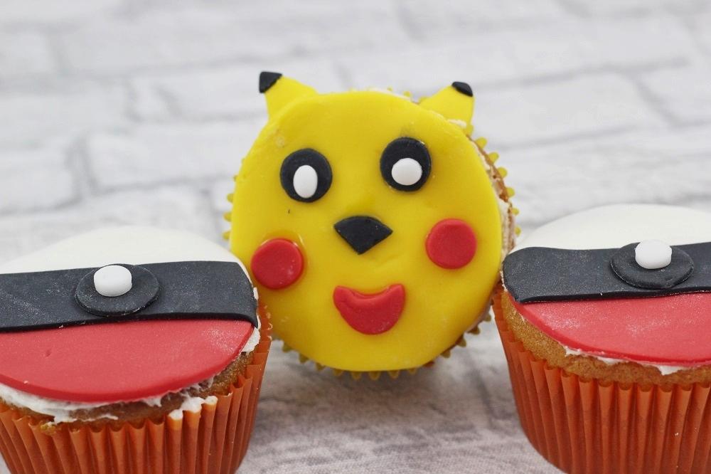 Pokémon GO Cupcakes